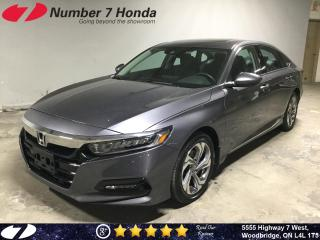 Used 2018 Honda Accord EX-L| Leather| Sunroof| Auto-Start| for sale in Woodbridge, ON