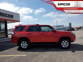 Used 2019 Toyota 4Runner SR5 Package  - Certified - $270 B/W for sale in Simcoe, ON