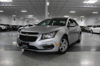 Used 2016 Chevrolet Cruze NO ACCIDENTS I LEATHER I SUNROOF I REAR CAM I REMOTE START for sale in Mississauga, ON