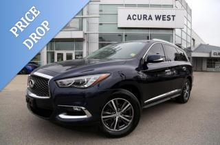 Used 2017 Infiniti QX60 AWD, GPS, New Michelin Tires for sale in London, ON