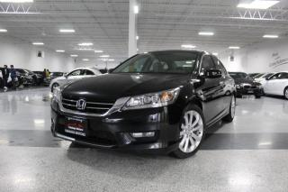Used 2014 Honda Accord TOURING I NO ACCIDENTS I LEATHER I REAR CAM I SUNROOF I V6 for sale in Mississauga, ON