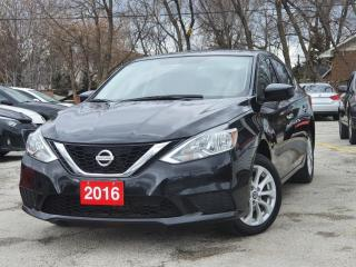 Used 2016 Nissan Sentra SV|Accident Free|Alloy Wheels|Heated Seats|WE FINANCE for sale in Mississauga, ON