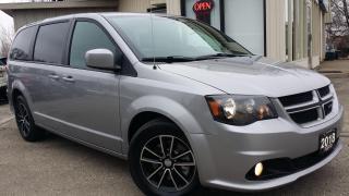Used 2018 Dodge Grand Caravan GT - LEATHER! BACK-UP CAM! PWR SLIDING DOORS! REMOTE START! for sale in Kitchener, ON