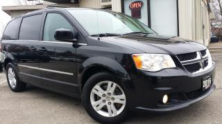 Used 2016 Dodge Grand Caravan Crew - BACK-UP CAM! HEATED SEATS! TOUCH SCREEN! for sale in Kitchener, ON