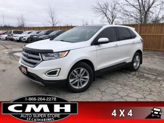 Used 2015 Ford Edge SEL  AWD TECH-PKG LEATH NAV ROOF P/SEAT HS for sale in St. Catharines, ON