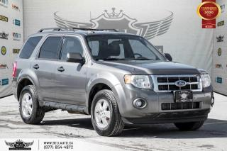Used 2011 Ford Escape XLT, V6, NO ACCIDENT, ALLOY WHEELS, PWR SEAT, CLIMATE CNTRL for sale in Toronto, ON