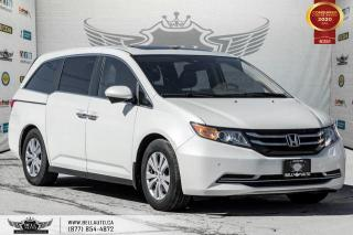 Used 2016 Honda Odyssey EX-L, 8 PASS, NO ACCIDENT, REAR CAM, MONITOR, SUNROOF for sale in Toronto, ON