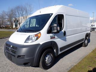 Used 2018 RAM ProMaster 2500 High Roof Tradesman 159-in. WB Cargo Van for sale in Burnaby, BC