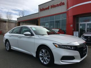 New 2020 Honda Accord LX for sale in Courtenay, BC