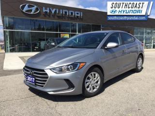 Used 2017 Hyundai Elantra LE  - Bluetooth -  Heated Seats - $98 B/W for sale in Simcoe, ON