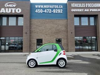 Used 2014 Smart fortwo Passion Electric Drive for sale in St-Eustache, QC