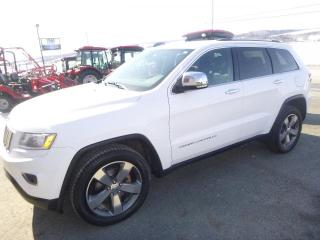 Used 2015 Jeep Grand Cherokee 4 RM, 4 portes, Limited for sale in St-Joseph-de-Beauce, QC