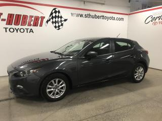 Used 2016 Mazda MAZDA3 4dr HB Sport Auto GS, CAMÉRA DE RECUL for sale in St-Hubert, QC