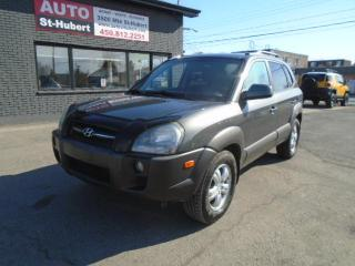 Used 2008 Hyundai Tucson GL AWD for sale in St-Hubert, QC