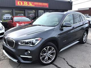 Used 2016 BMW X1 AWD-xDrive28i-TOIT OUVRANT PANORAMIQUE-CAM RECUL for sale in Laval, QC