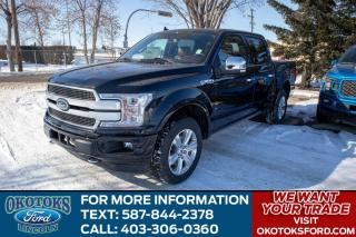 New 2020 Ford F-150 PLATINUM for sale in Okotoks, AB