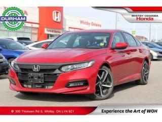 Used 2018 Honda Accord Sport for sale in Whitby, ON