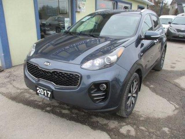 2017 Kia Sportage ALL-WHEEL DRIVE EX EDITION 5 PASSENGER 2.4L - DOHC.. LEATHER.. HEATED SEATS.. BACK-UP CAMERA.. BLUETOOTH.. DRIVE-MODE SELECT SYSTEM..