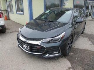 Used 2019 Chevrolet Cruze LIKE NEW LT - RS MODEL 5 PASSENGER 1.4L - TURBO.. HEATED SEATS.. POWER SUNROOF.. BACK-UP CAMERA.. BLUETOOTH.. BOSE AUDIO.. KEYLESS ENTRY & START.. for sale in Bradford, ON