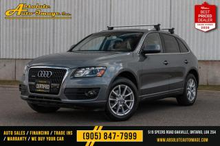 Used 2012 Audi Q5 3.2L Premium Plus,Navi,BackupCam,Blindspot,No accident for sale in Oakville, ON