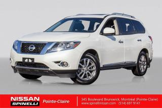 Used 2016 Nissan Pathfinder SL TECH AWD NAVIGATION / CAMERA DE RECUL / VOLANT CHAUFFANT / for sale in Montréal, QC