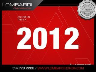Used 2011 Chevrolet Cruze LT |CECI EST UN 2012| OFFRE SPECIALE| for sale in Montréal, QC