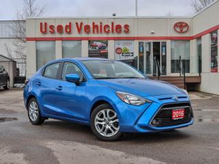 Used 2016 Toyota Yaris SEDAN   R CAM   NAV   ALLOYS   H SEATS   1 OWNER for sale in North York, ON