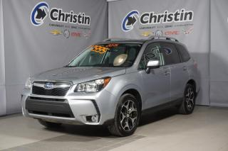 Used 2015 Subaru Forester 2.0L XT AWD SUNROOF SIEGE EN CUIR/TISSUS CHAUFFANT for sale in Montréal, QC