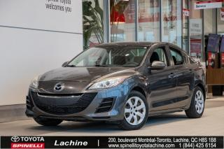 Used 2010 Mazda MAZDA3 PNEUS D'ÉTÉ ET D'HIVER INCLUS for sale in Lachine, QC