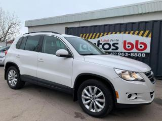 Used 2011 Volkswagen Tiguan 4MOTION CUIR MAGS TOIT for sale in Laval, QC