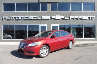Used 2015 Nissan Sentra 1,8 SV - AUTOMATIQUE - SIEGES CHAUFFANTS -GARANTIE for sale in Québec, QC