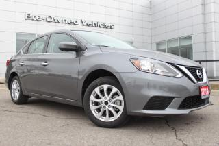 Used 2019 Nissan Sentra 1.8 SV ONLY 453KMS. NISSAN CERTIFIED PREOWNED! for sale in Toronto, ON