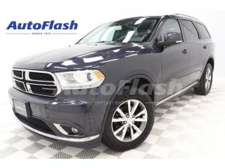 Used 2014 Dodge Durango Limited 3.6L *GPS/Camera *DVD *Cuir/Leather for sale in St-Hubert, QC
