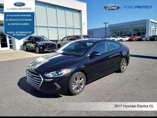 Used 2017 Hyundai Elantra GL **CAMERA*BLUETOOTH*CRUISE*SIEGES CHAUFFANTS** for sale in Victoriaville, QC