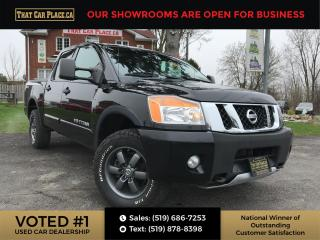 Used 2013 Nissan Titan PRO-4X 4x4 Crew Cab-Htd Lthr Seats-Bluetooth for sale in London, ON
