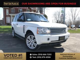 Used 2009 Land Rover Range Rover Supercharged AirRide Suspension-Htd&Cool WhiteLthr-NAVI-Backup-Sunroof for sale in London, ON