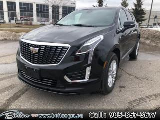 New 2020 Cadillac XT5 Luxury -  1SB Package - $326 B/W for sale in Bolton, ON