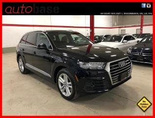 Used 2017 Audi Q7 TECHNIK S-LINE SPORT MASSAGE DRIVER ASSISTANCE PLUS for sale in Vaughan, ON