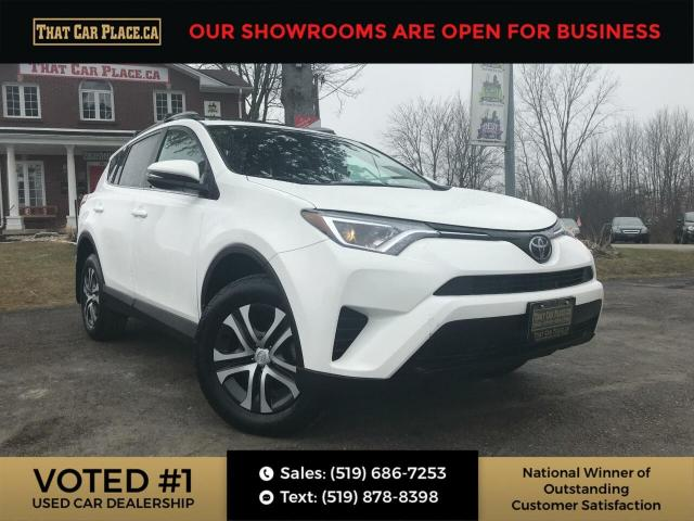 2017 Toyota RAV4 LE AWD-Htd Seats-Backup-LaneAssist-AutoHeadlights-Back Up, Htd Seats,
