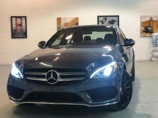 Used 2015 Mercedes-Benz C-Class C400 | 19 Wheels | AMG | RED Int | Nav | Blind Sp for sale in Pickering, ON