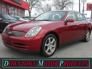 Used 2003 Infiniti G35 Luxury for sale in London, ON