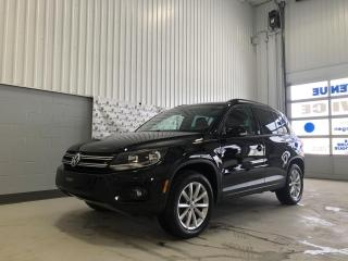 Used 2017 Volkswagen Tiguan Édition Wolfsburg for sale in Chicoutimi, QC