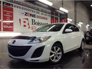 Used 2011 Mazda MAZDA3 AUTOMATIQUE A/C TOIT OUVRANT VITRE TEINTÉ for sale in Blainville, QC
