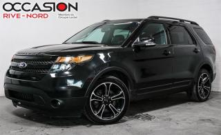 Used 2015 Ford Explorer Sport AWD NAVI+CUIR+TOIT.PANO for sale in Boisbriand, QC