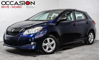 Used 2012 Toyota Matrix TOIT.OUVRANT+A/C+GR.ELECTRIQUE for sale in Boisbriand, QC