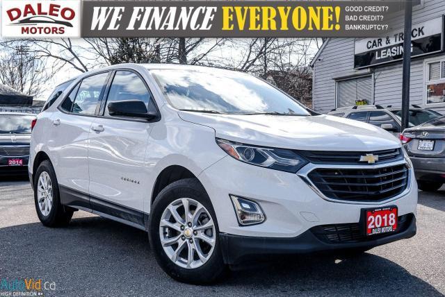 2018 Chevrolet Equinox LS |  REMOTE START | BACKUP CAM | HEATED SEATS |