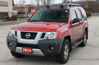 Used 2013 Nissan Xterra PRO-4X NAVI | 1-Owner | CERTIFIED for sale in Waterloo, ON
