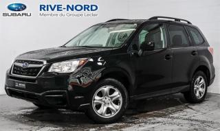 Used 2017 Subaru Forester BLUETOOTH+CAM.RECUL+SIEGES.CHAUFFANTS for sale in Boisbriand, QC
