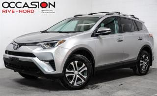 Used 2016 Toyota RAV4 LE AWD MAGS+CAM.RECUL+SIEGES.CHAUFFANTS for sale in Boisbriand, QC