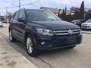 Used 2013 Volkswagen Tiguan for sale in Scarborough, ON